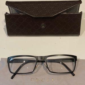 Gucci reading glasses w/ prescription
